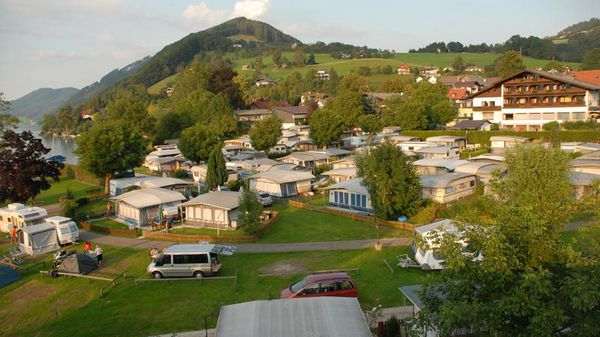 Camping Seefeld am Attersee, Panorama